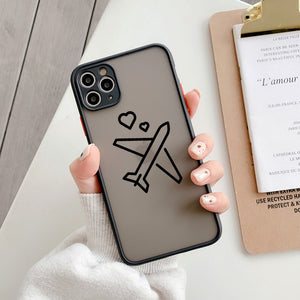 Cartoon Travel Case for iPhone 11-12