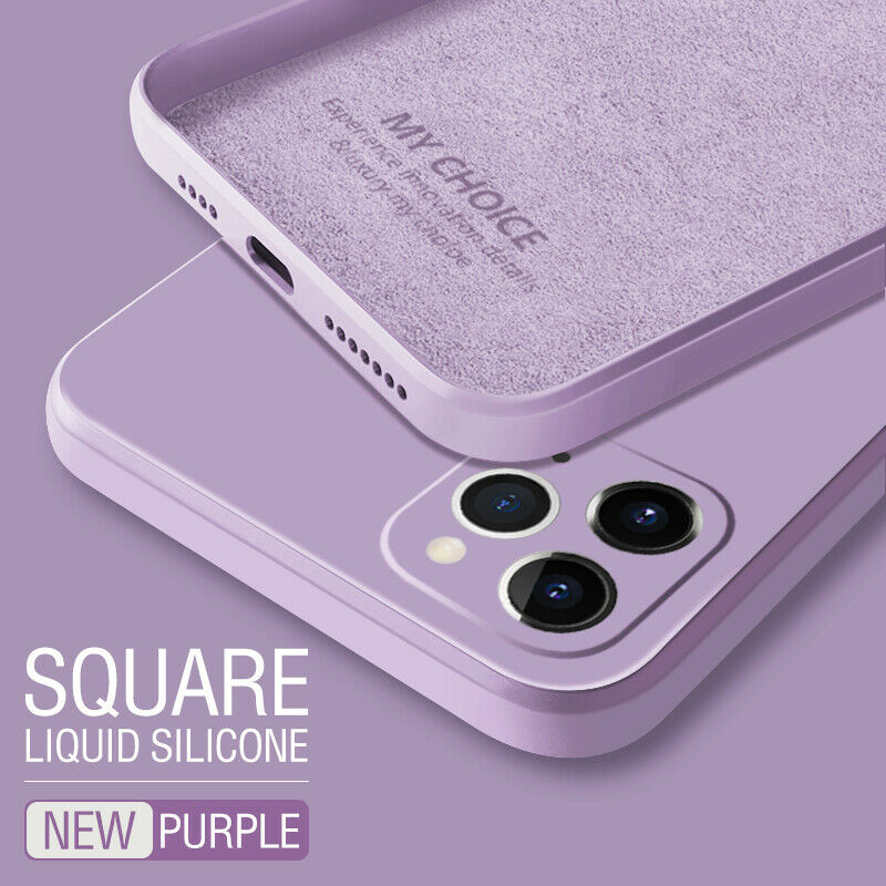 iPhone 12  Deluxe Soft Silicone Case