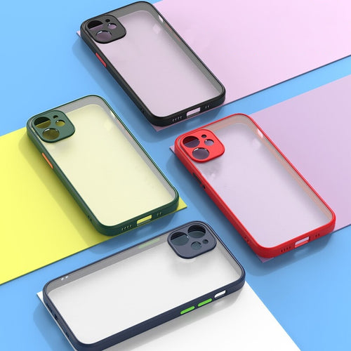 iPhone 12 Transparent Mat Case