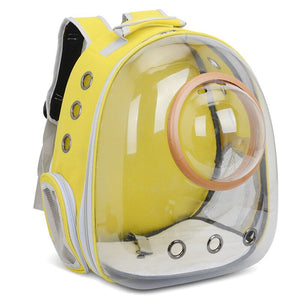 Portable Cat Travel Capsule Backpack