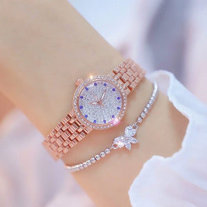 Diamond Small Gold Ladies  Watch - My eTech