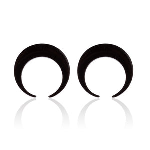 Moon Stainless Steel Earrings - My eTech