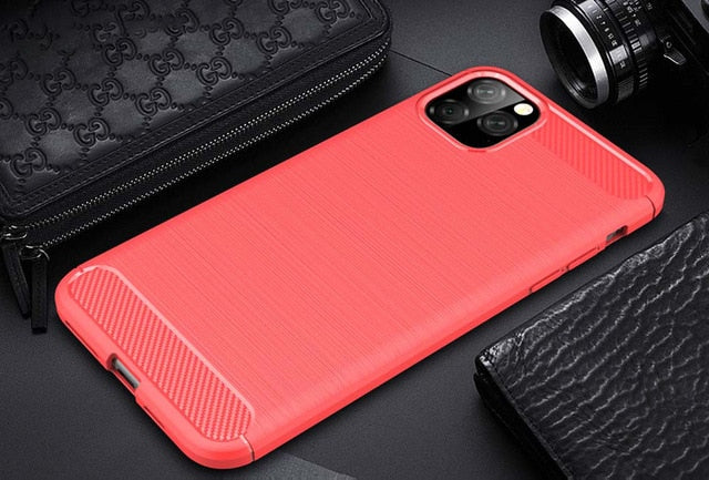 iPhone 11 Pro Max Case Carbon Fiber Cover - My eTech
