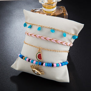 White Pearl Ankle Foot Chain - My eTech