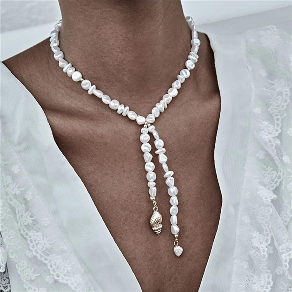 Pearls Long Chain Necklace - My eTech