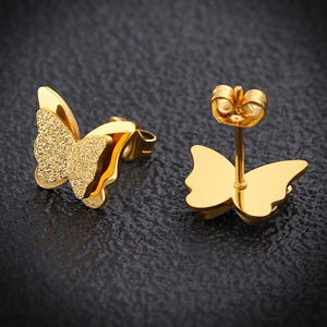 Butterfly Charms Necklace &  Earrings - My eTech