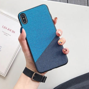 Fabric Cloth Phone Case for iPhone - My eTech