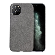 Load image into Gallery viewer, Cloth Texture and Grid Pattern Soft case for iPhone - My eTech