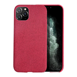 Cloth Texture and Grid Pattern Soft case for iPhone - My eTech