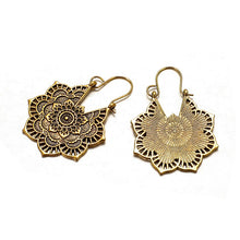 Load image into Gallery viewer, Vintage Mandala Flower Drop  Earrings - My eTech