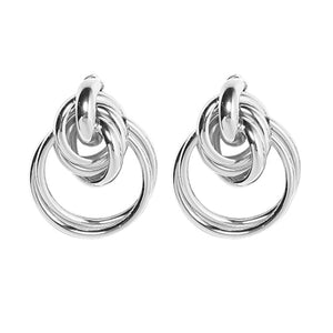 3 Color Big Alloy Earring - My eTech