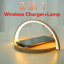 Load image into Gallery viewer, Table Lamp Wireless Charger - My eTech