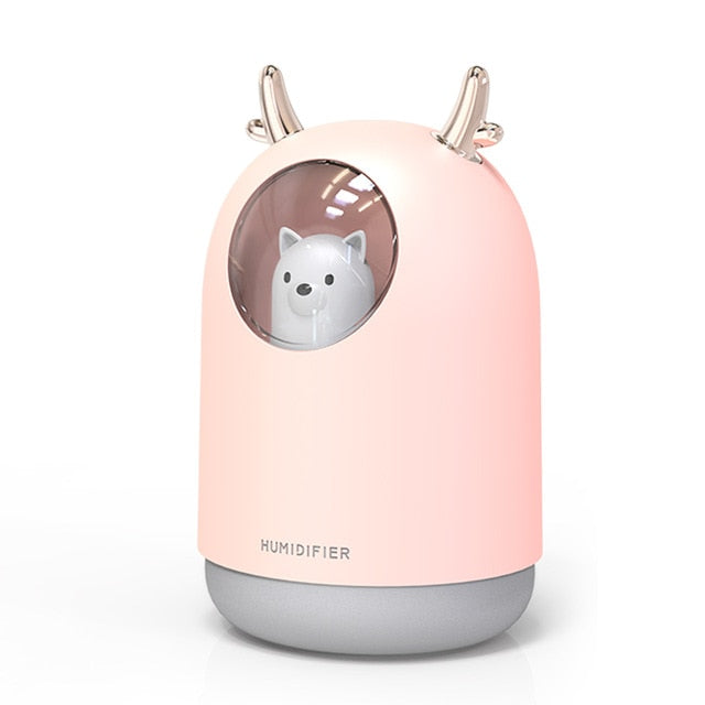 300ml Cute Pet Ultrasonic  Aroma Diffuser - My eTech
