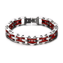 Load image into Gallery viewer, Bike Chain Bracelet Stainless Steel - My eTech