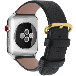 Leather colorful bands for Apple Watch - My eTech
