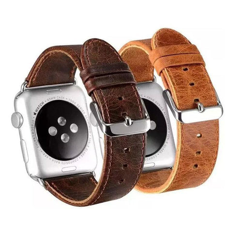 Leather Apple Watch Bands - My eTech