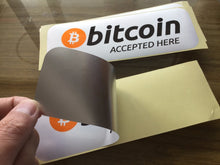 Load image into Gallery viewer, Bitcoin  Sticker - My eTech