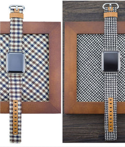Denim & Leather Bands for Apple Watch - My eTech
