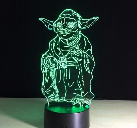 Star Wars LED Night Lights - My eTech