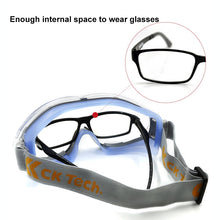 Load image into Gallery viewer, Transparent Safety Goggles - My eTech