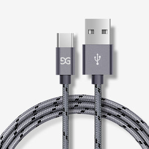 Nylon Braided Charging Cable - My eTech