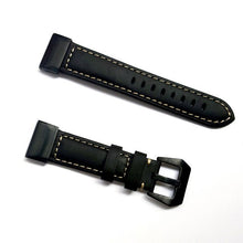 Load image into Gallery viewer, For Garmin Fenix 5X Quick Fit Genuine Leather Strap 26mm Watch Band for Garmin Fenix 5X/5X Plus/3/3 HR/D2/ Descent Mk1 Wristband - My eTech
