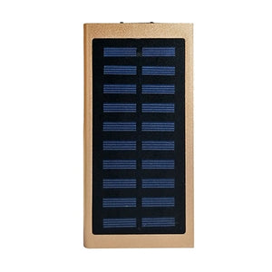 20000mAh Solar Power Bank External Battery quick charge Dual USB - My eTech