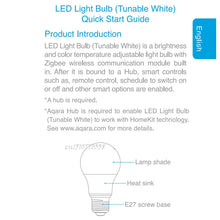Load image into Gallery viewer, Xiaomi Aqara 9W E27 806 lum Smart Color LED Bulb - My eTech