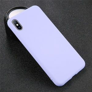 Silicone Solid Color Case for iPhone - My eTech