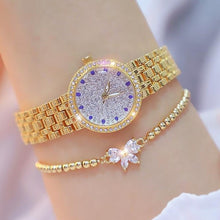 Load image into Gallery viewer, Diamond Small Gold Ladies  Watch - My eTech