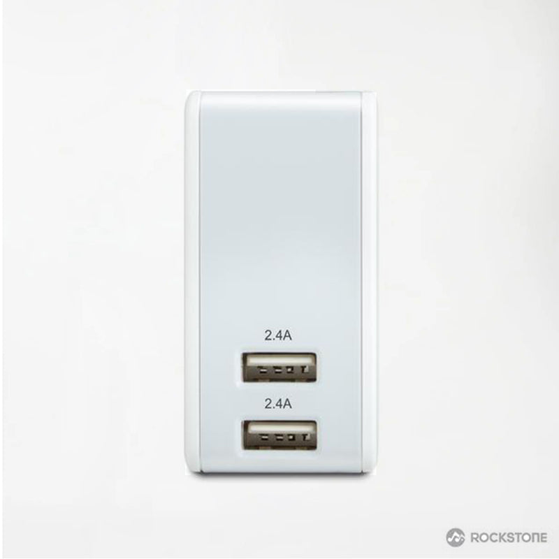J5K Power Bank + Wall Charger | 2 USB Ports | 5000 mAH | Power Bank