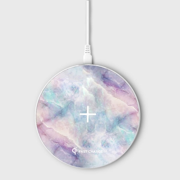 Apollo Marble Aluminium Wireless Charging Pad - Wireless Charger - Unicorn