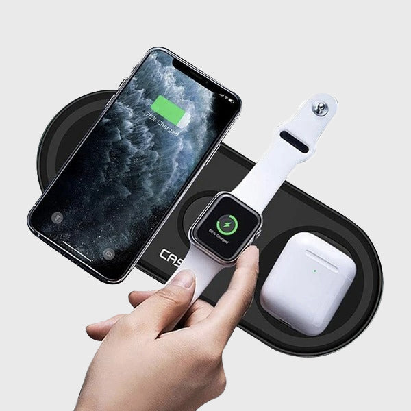 Nitro 3 in 1 Fast Wireless Charging Pad Apple - Wireless Charger