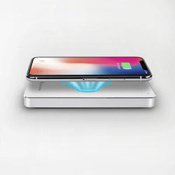 8000mAh Wireless Charging Power Bank - White