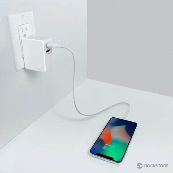Q2 Qualcomm Quick Charge 3.0 Wall Charger + 2.4A USB Port