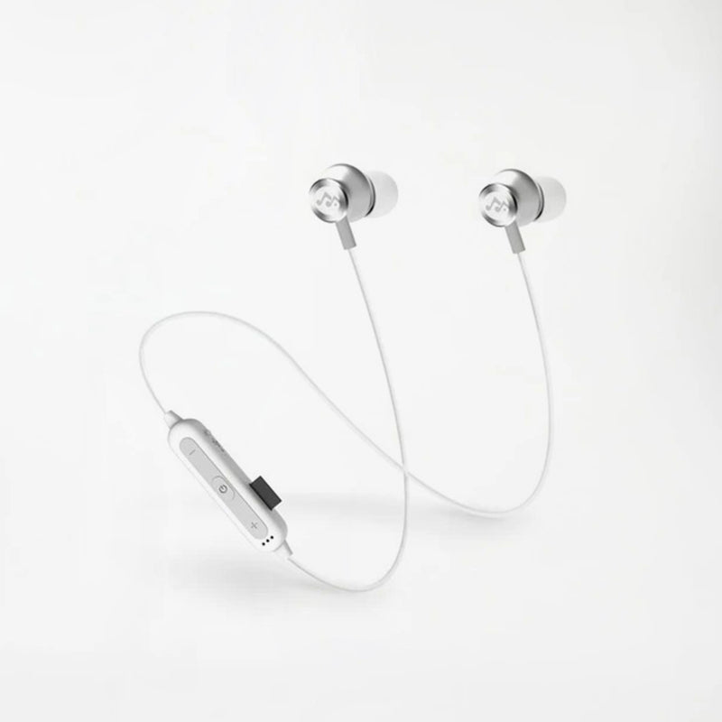 Xr1 Bluetooth Sports Hi-fi Stereo Earbuds - Bluetooth Earphone - White - Rockstone| Caseco