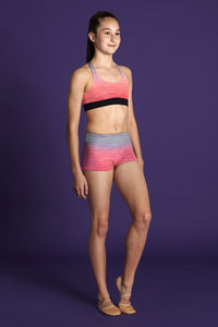 Bloch Moves BM204S Gradient Short - Coral - Strictly Dancing