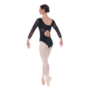Tappers and Pointers Elegance Leotard ELE/1 - Available in Black or Burgundy - Strictly Dancing