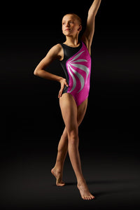 Block LG103L Women's Gymnastic Leotard - Pink