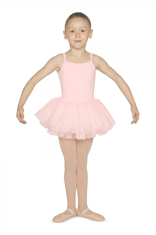 Mirella Girls Diamante Mesh Back Camisole Tutu Leotard - Strictly Dancing