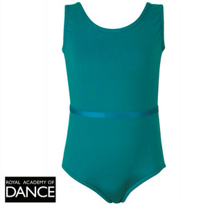 Freed Aimee RAD Leotard - Teal - Strictly Dancing