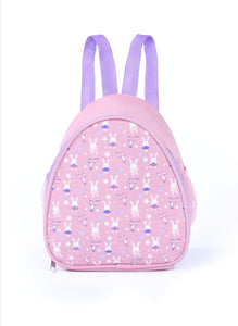 Roch valley pink bunny backpack dance bag