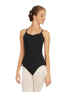 Capezio CC125 Adjustable-Strap Camisole Leotard - Black - Strictly Dancing
