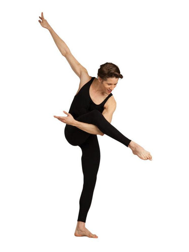 Capezio CC821 Men's Unitard - Black - Strictly Dancing
