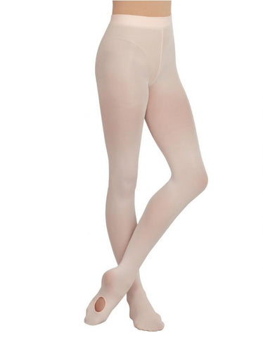 Capezio 1916 Ultra Soft™ Transition® Tight with Self-Knit Waistband - Ballet Pink - Strictly Dancing