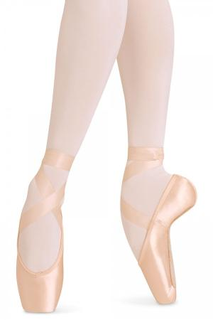 Bloch Balance European S0160L Pointe Shoes- Pink - Strictly Dancing