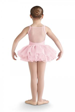 Bloch CL9565 Flock Heart Tutu -Pink - Strictly Dancing