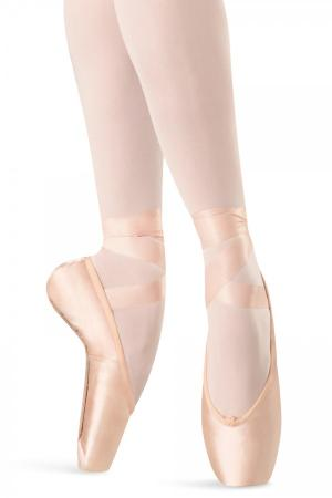 Bloch S0109LS Hannah Strong Pointe Shoes - Pink - Strictly Dancing
