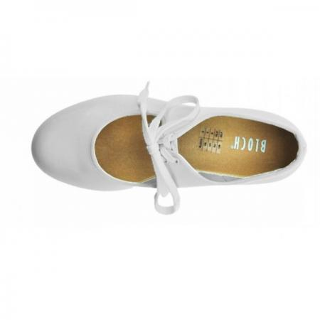 bloch timestep tap shoe in white