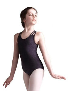 Capezio Andela Girls Leotard - Black - Strictly Dancing
